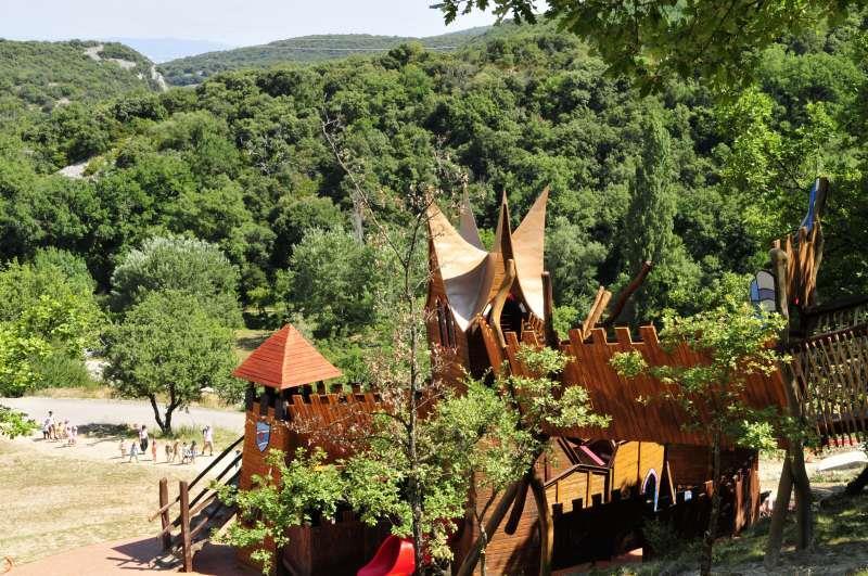 Camping Capfun Domaine d'Imbours, Larnas, Ardèche