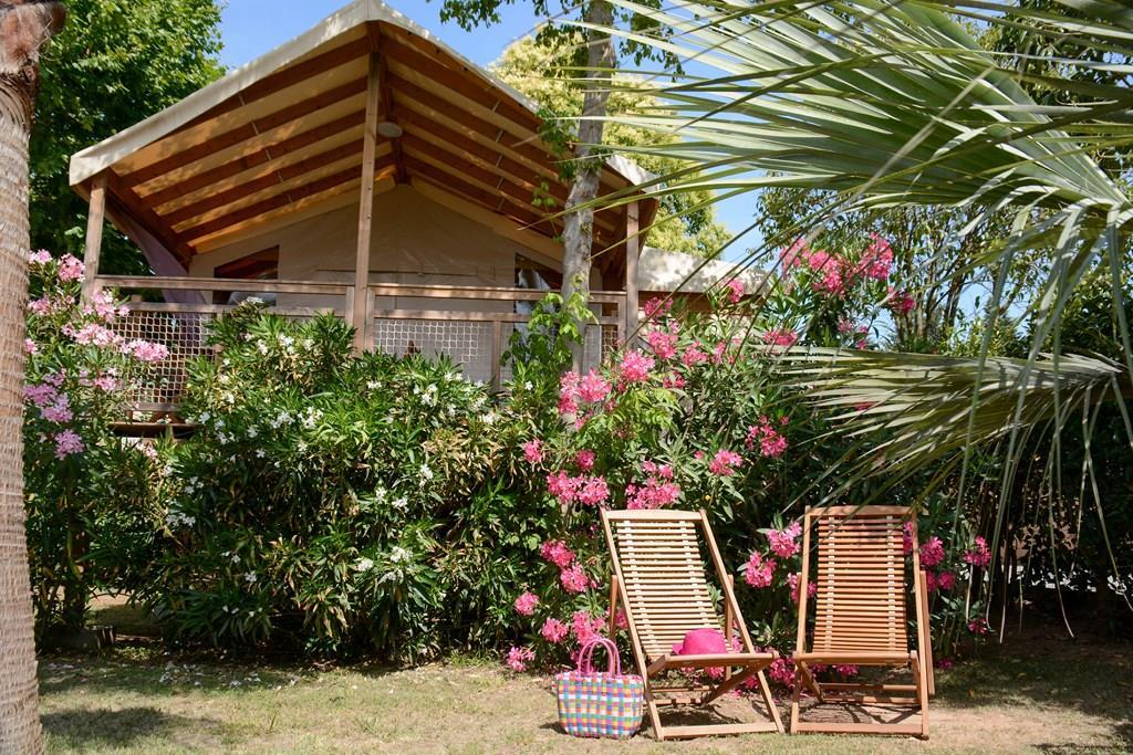 Location - Cabane Des Pêcheurs  22M² / 2 Chambres - Camping Les Pêcheurs