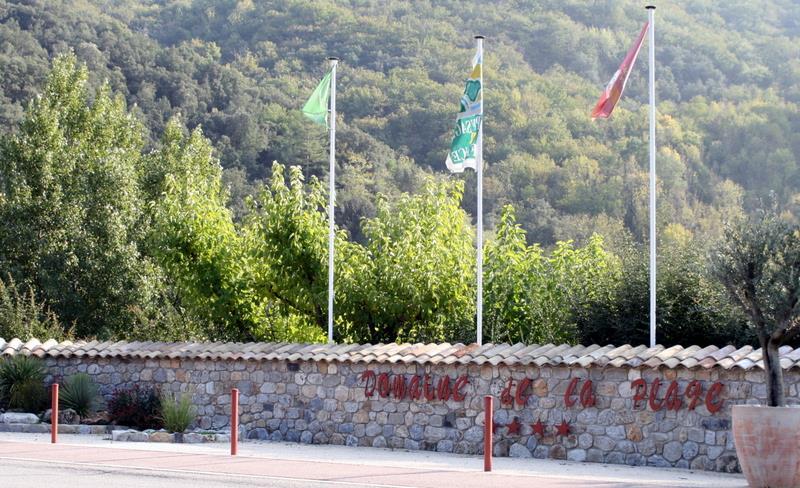 Camping Domaine de la Plage, Meyras, Ardèche