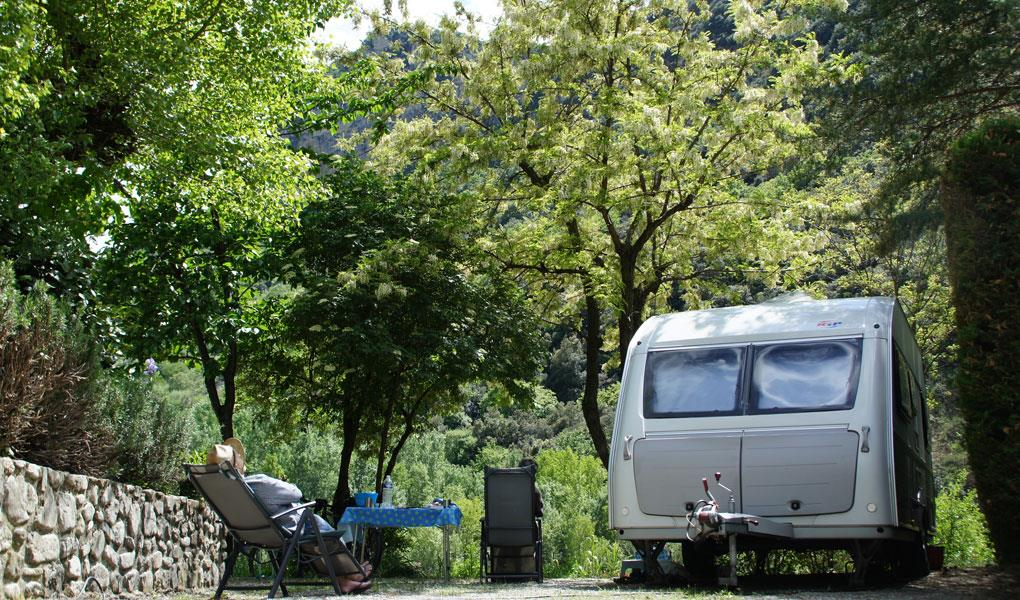 Pitch - Pitch 1 Person Caravan Or Tent + Car + Electricity 6A - Camping L'Or Vert