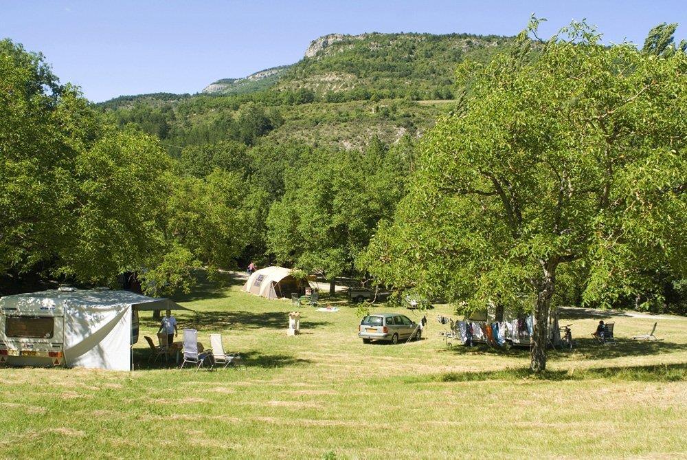Camping la Ferme de Clareau, La Motte-Chalancon, Drôme