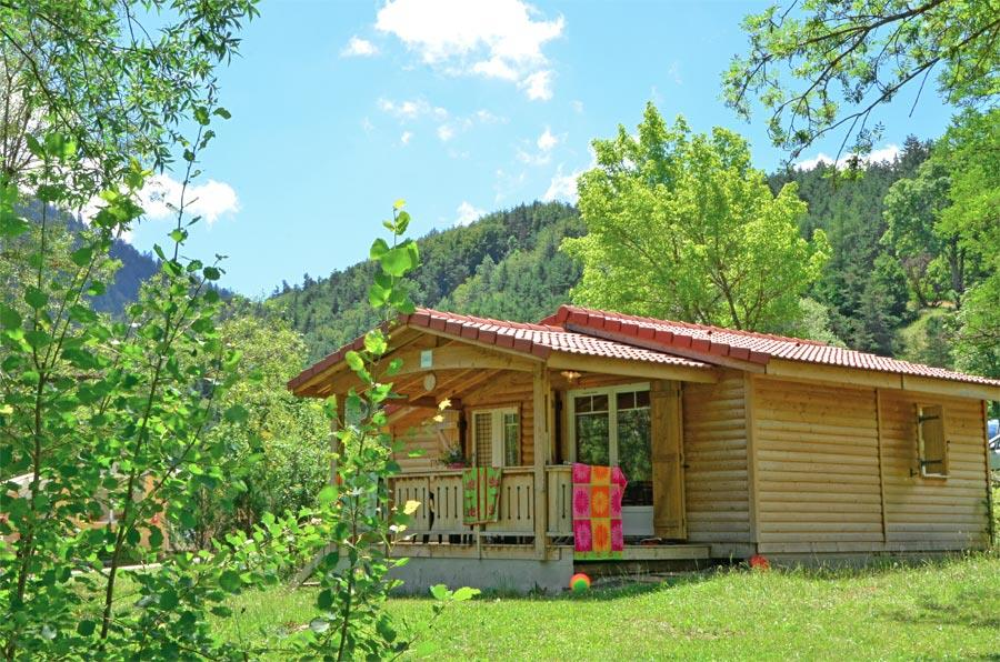 Accommodation - Chalet Charlay 2 Bedrooms - Camping CHAMP LA CHEVRE