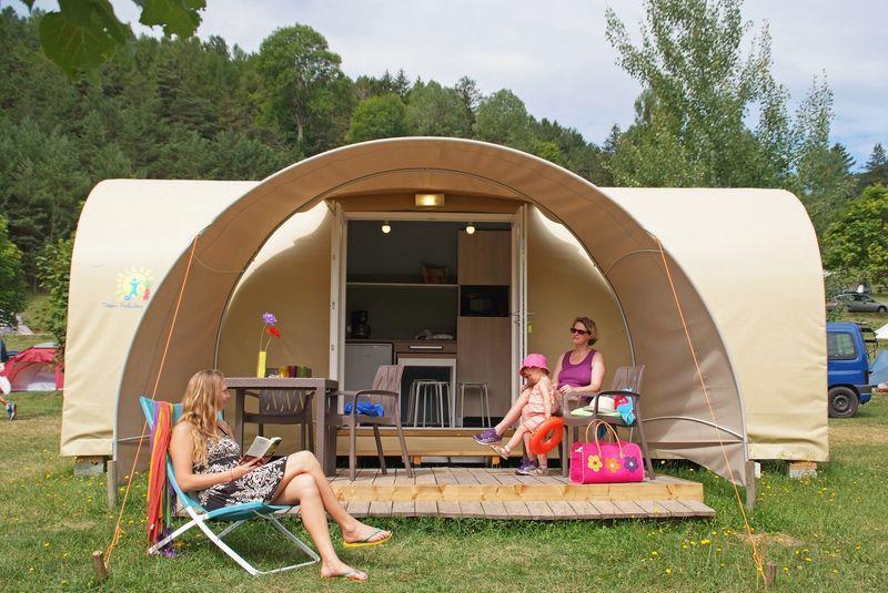 Camping Champ La Chevre, Lus-la-Croix-Haute, Drôme