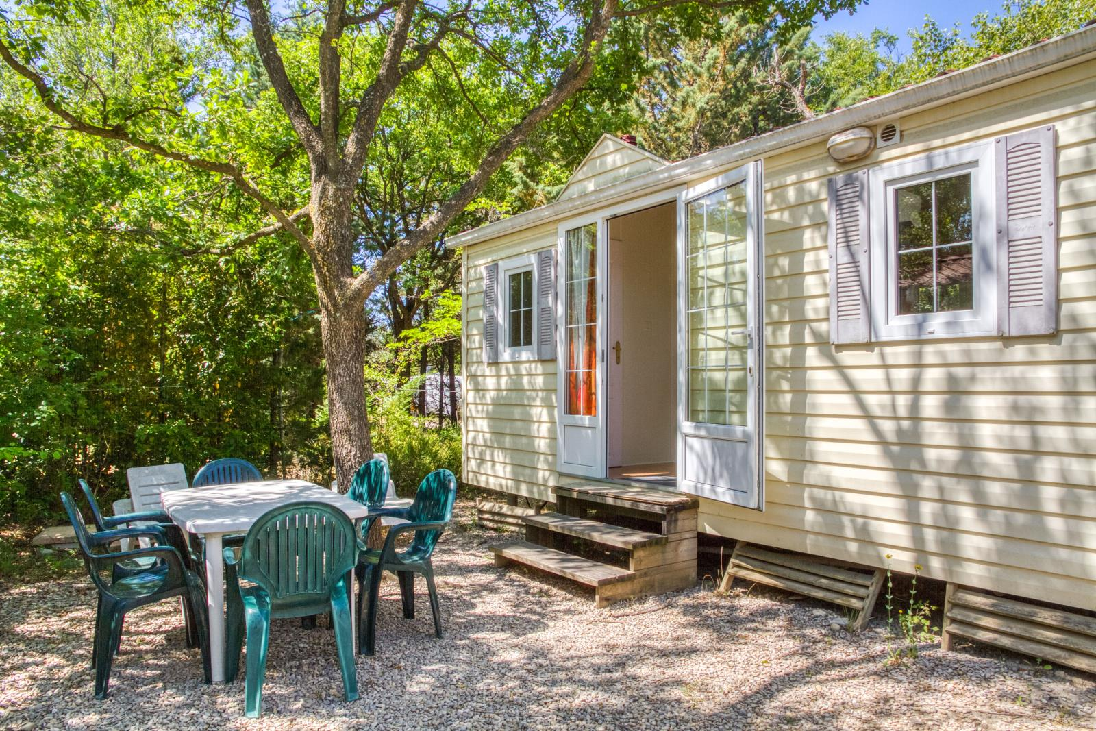 Accommodation - Mobile-Home 2 Bedrooms 28 M² - Camping Les Rives de l'Aygues