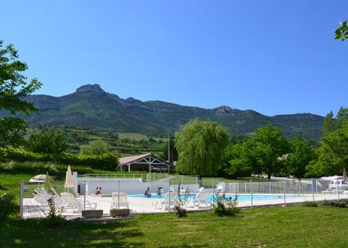 Camping les Tuillères, Vercheny, Drôme