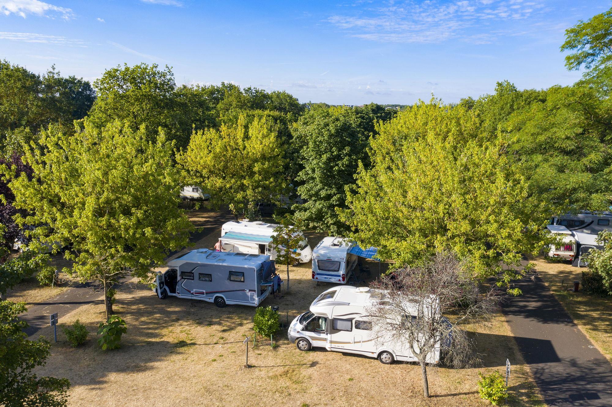 Camping les Peupliers, Montlouis-sur-Loire, Indre-et-Loire