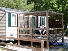 Accommodation - Mobile-Home Irm Domino 2 Bedrooms 26 M² Saturday/Saturday - CAMPING LES CLOS