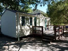 Accommodation - Mobile-Home Louisiane 2 Bedrooms 30 M² Sunday/Sunday - CAMPING LES CLOS