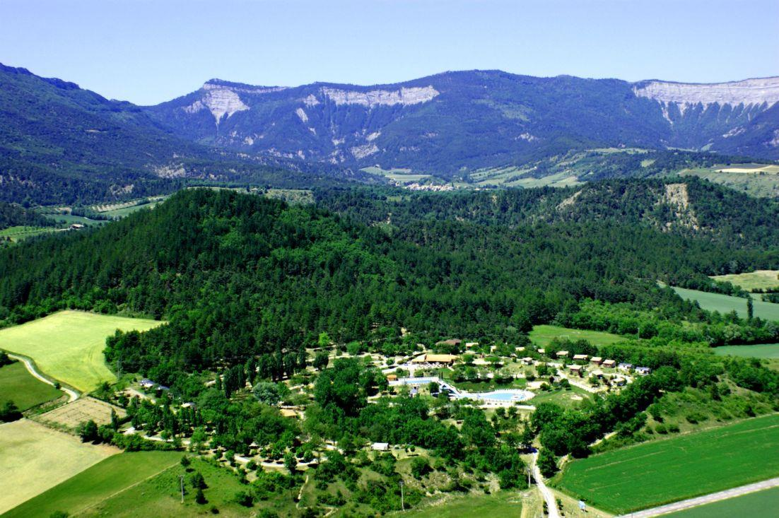 Camping le Couriou, Recoubeau-Jansac, Drôme