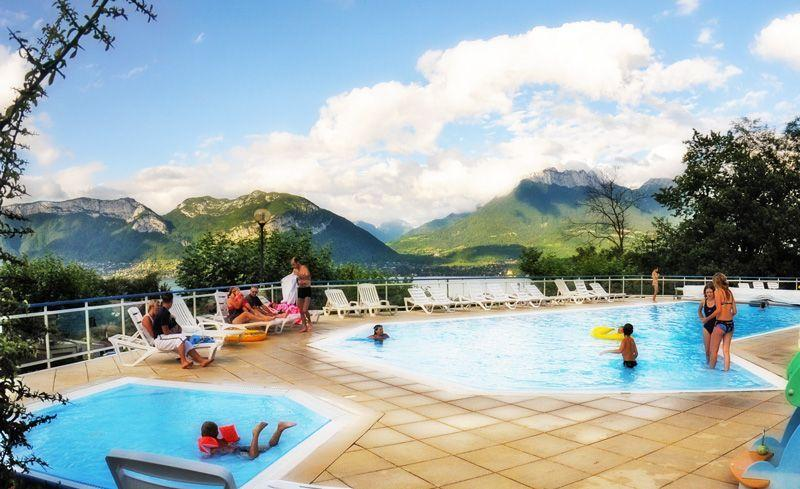 Baignade Camping Le Panoramic - Sevrier