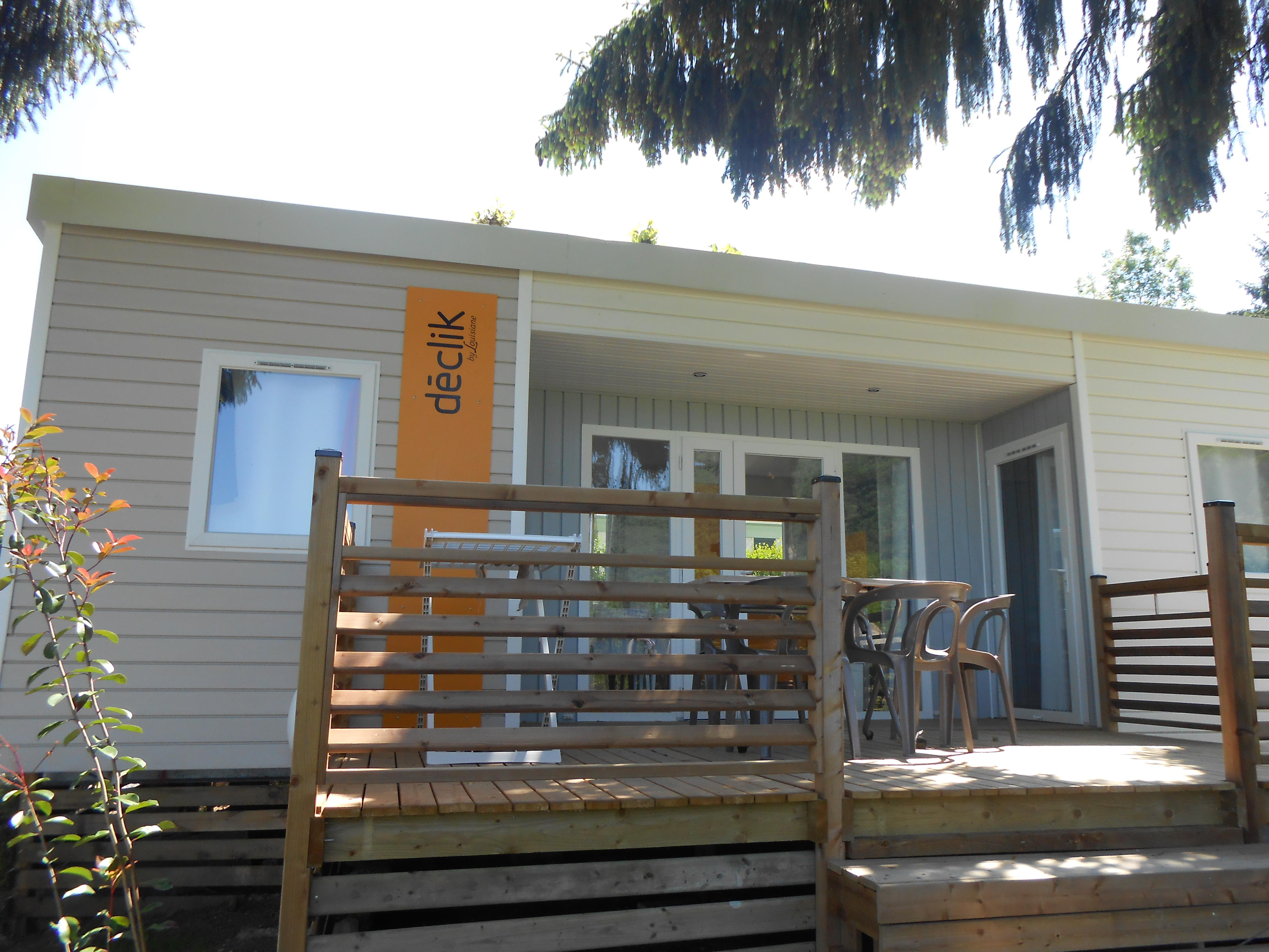 Location - Mobil Home Declick 28M² - 2 Chambres, 2 Salles De Bain - Camping Le Panoramic
