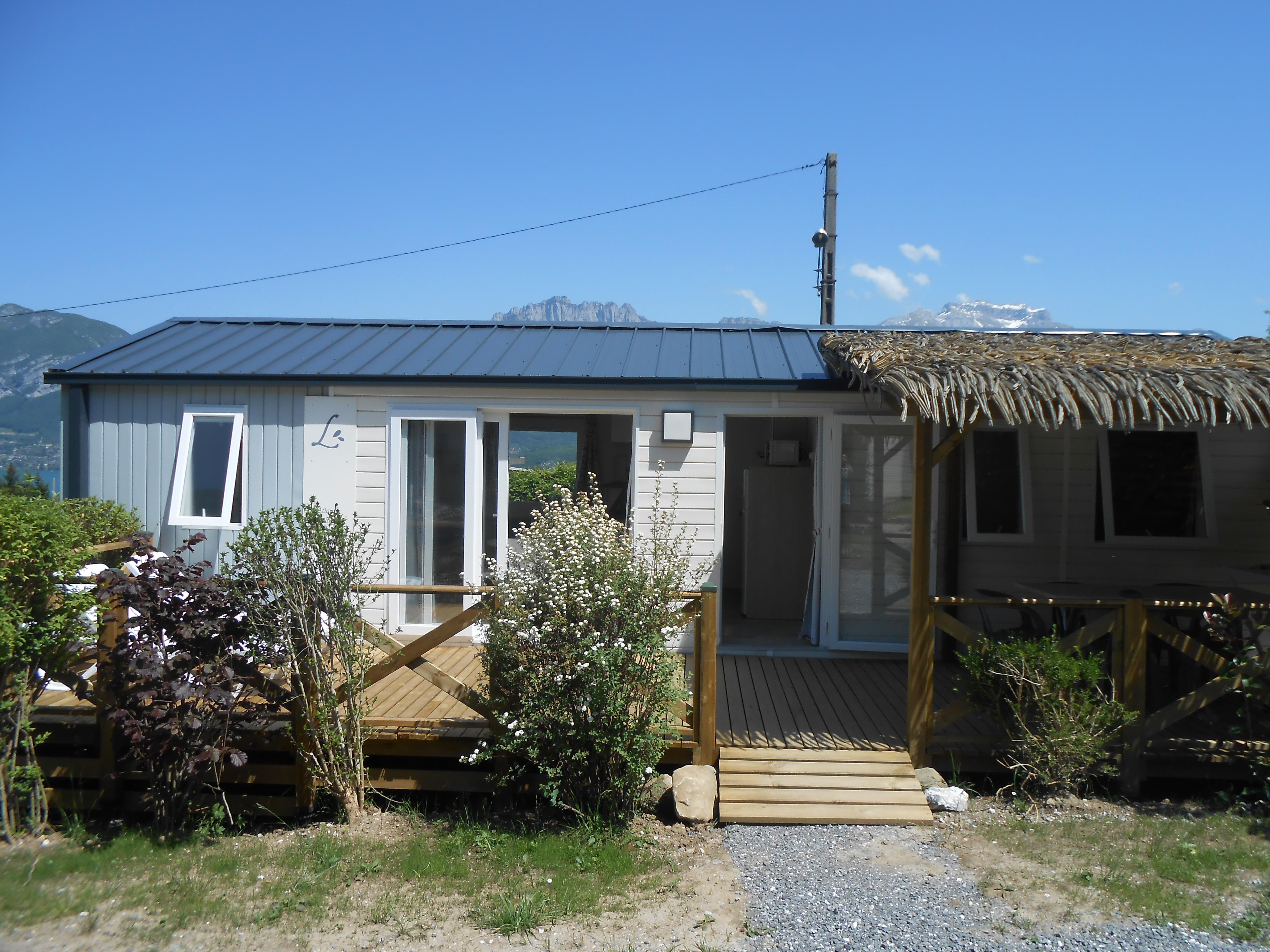 Accommodation - Mobil Home Atlantic 38M² - 3 Bedrooms, 2 Bathrooms - Camping Le Panoramic