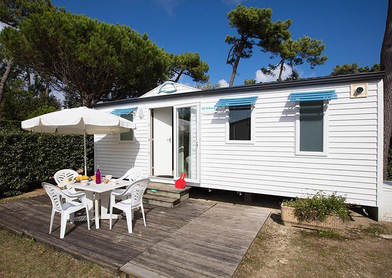 Location - Cottage Mer 2 Ch Ophea (Confort) - Camping Bois Soleil