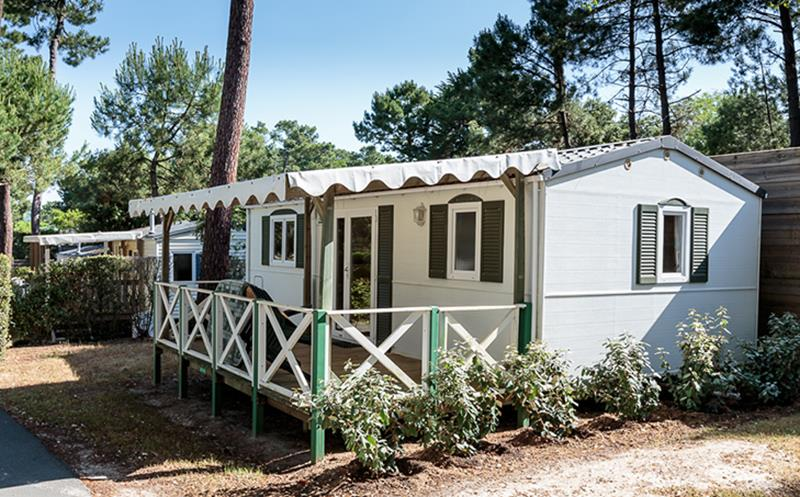 Location - Cottage Pins 2 Ch 5 Pers. (Standard) - Camping Bois Soleil
