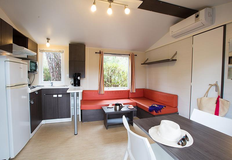 Location - Cottage Pins 2 Ch Bois (Premium) - Camping Bois Soleil