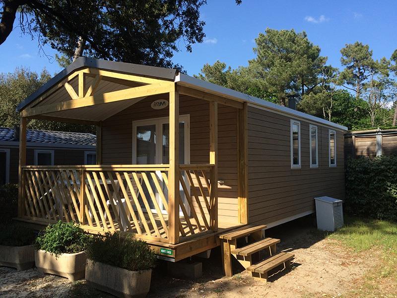 Location - Cottage Pins 2 Ch Loggia (Confort) - Camping Bois Soleil