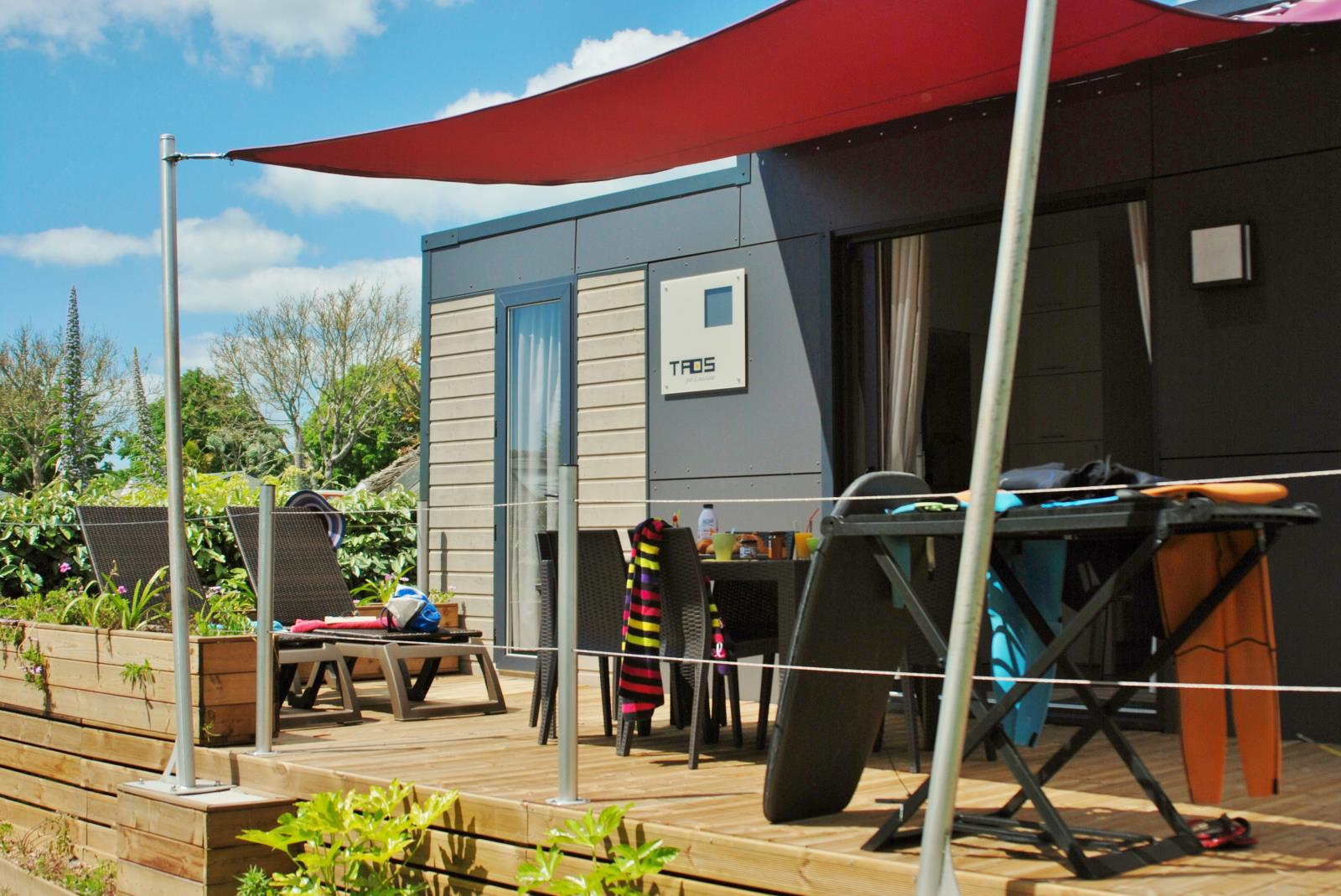 Location - S-Cottage Privilège Ty Taos 4 - Camping Les Embruns