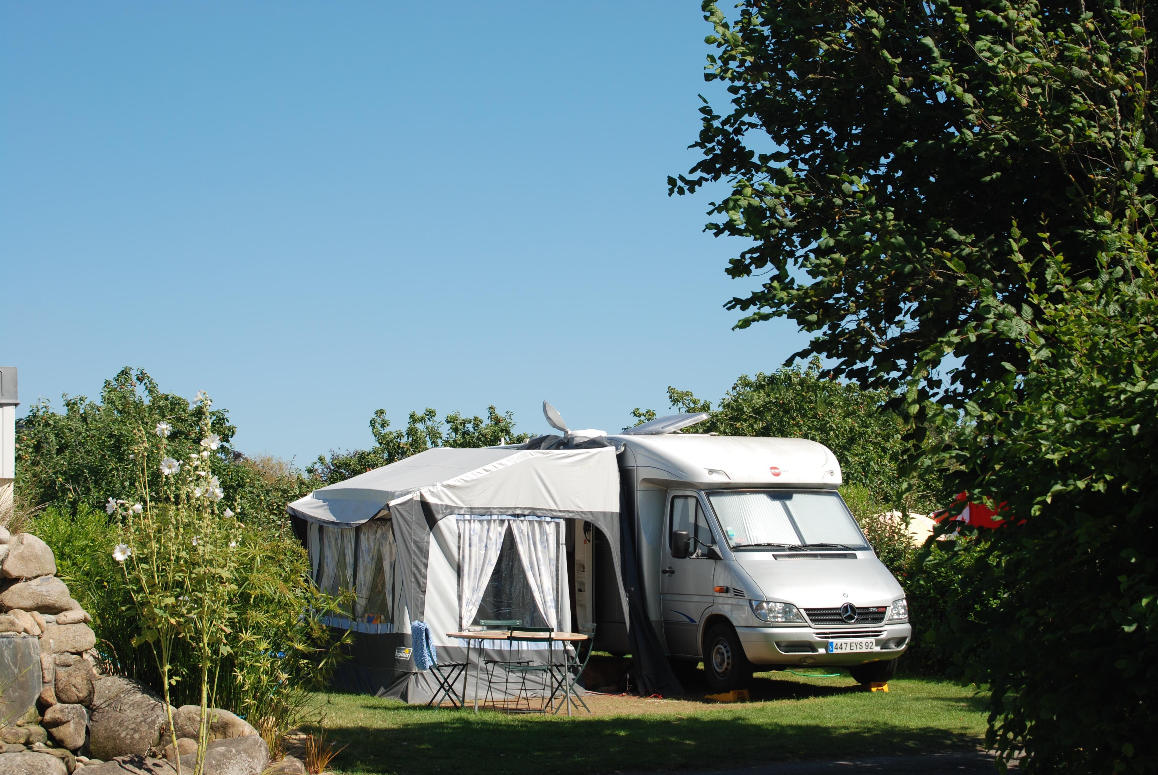 Camping les Embruns, Clohars-Carnoet, Finistère