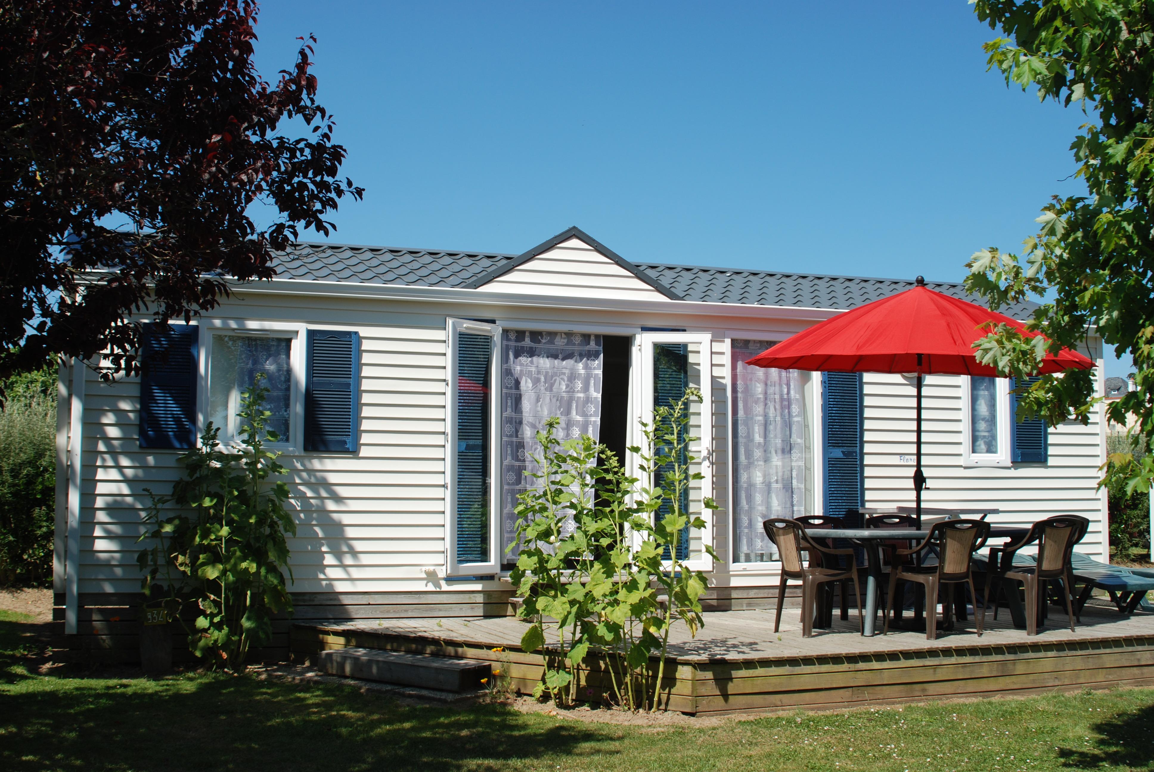 Location - S-Cottage Nautique- Avec Terrasse - Camping Les Embruns