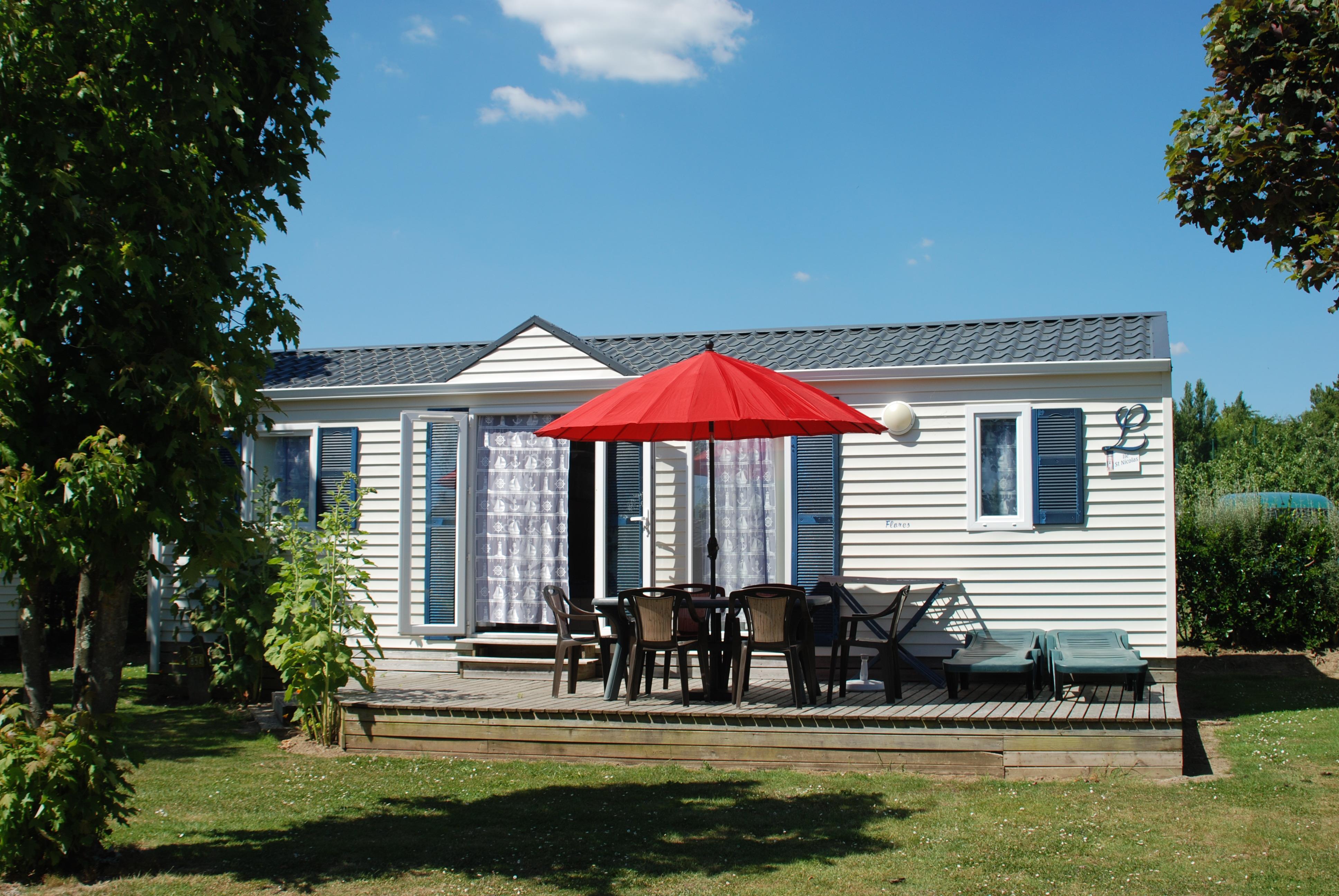 Location - L-Cottage Nautique Terrasse - Camping Les Embruns