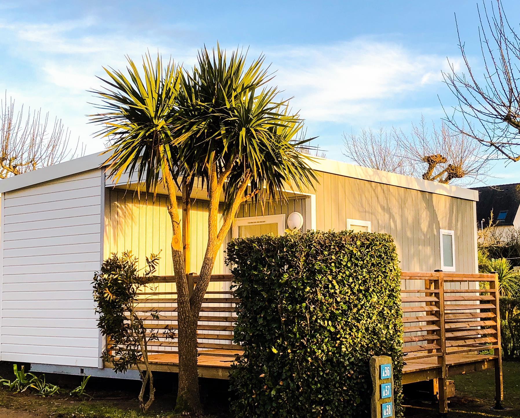 Location - D-Cottage Ty Armorik Terrasse Semi Couverte -Modèle 2018 - Camping Les Embruns