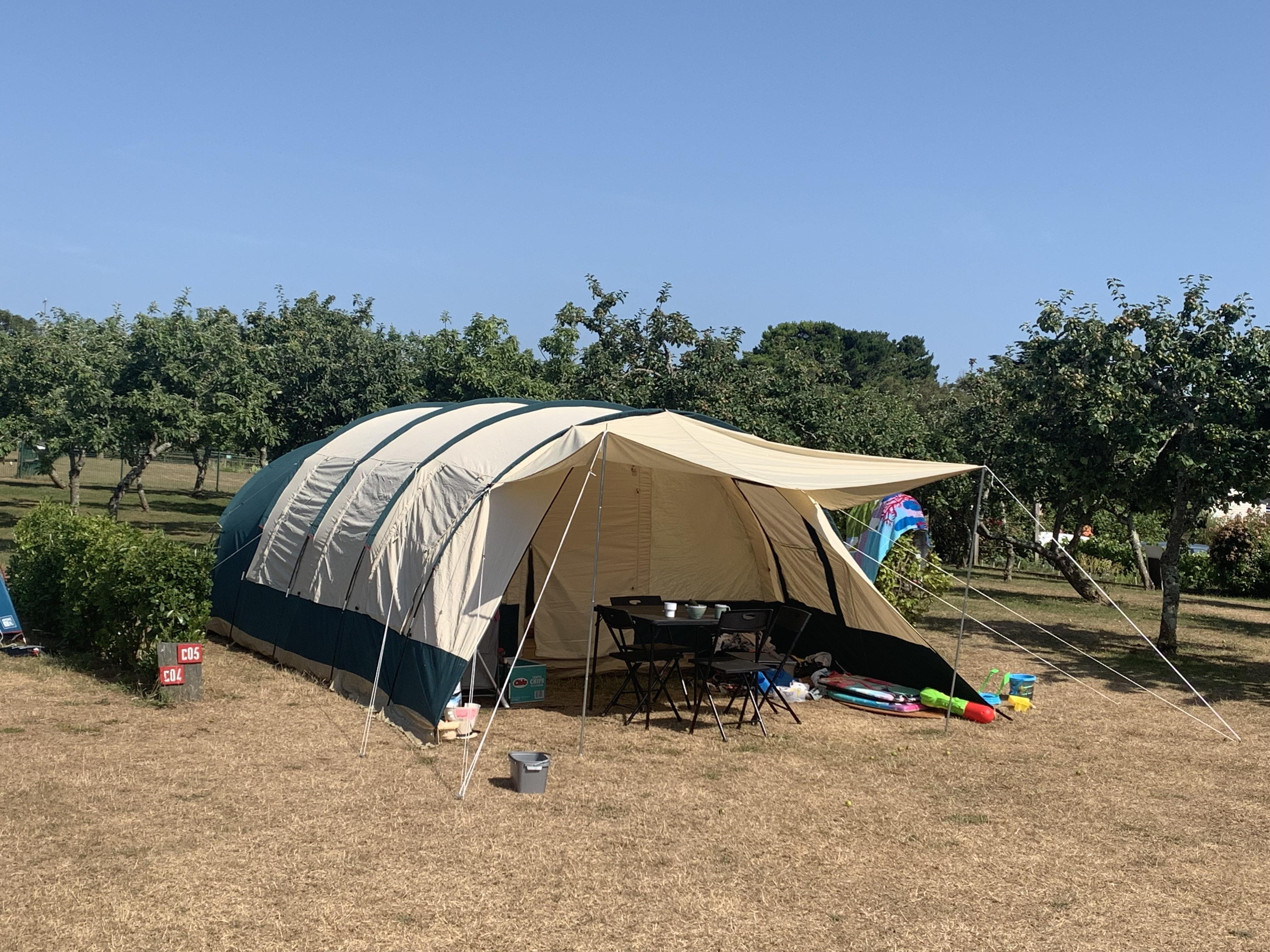 Emplacement - Forfait Nature   60 M² - Camping Les Embruns