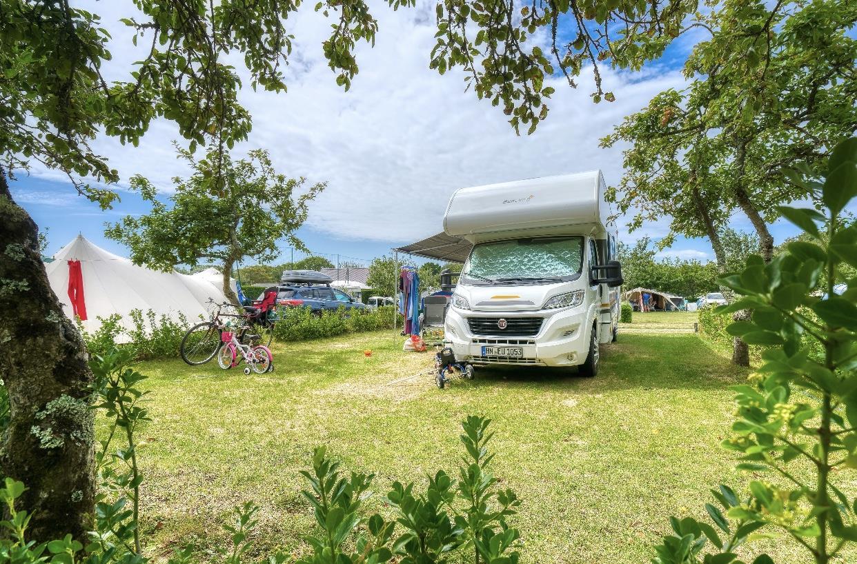 Emplacement - Emplacement Espace Confort Premium - Camping Les Embruns