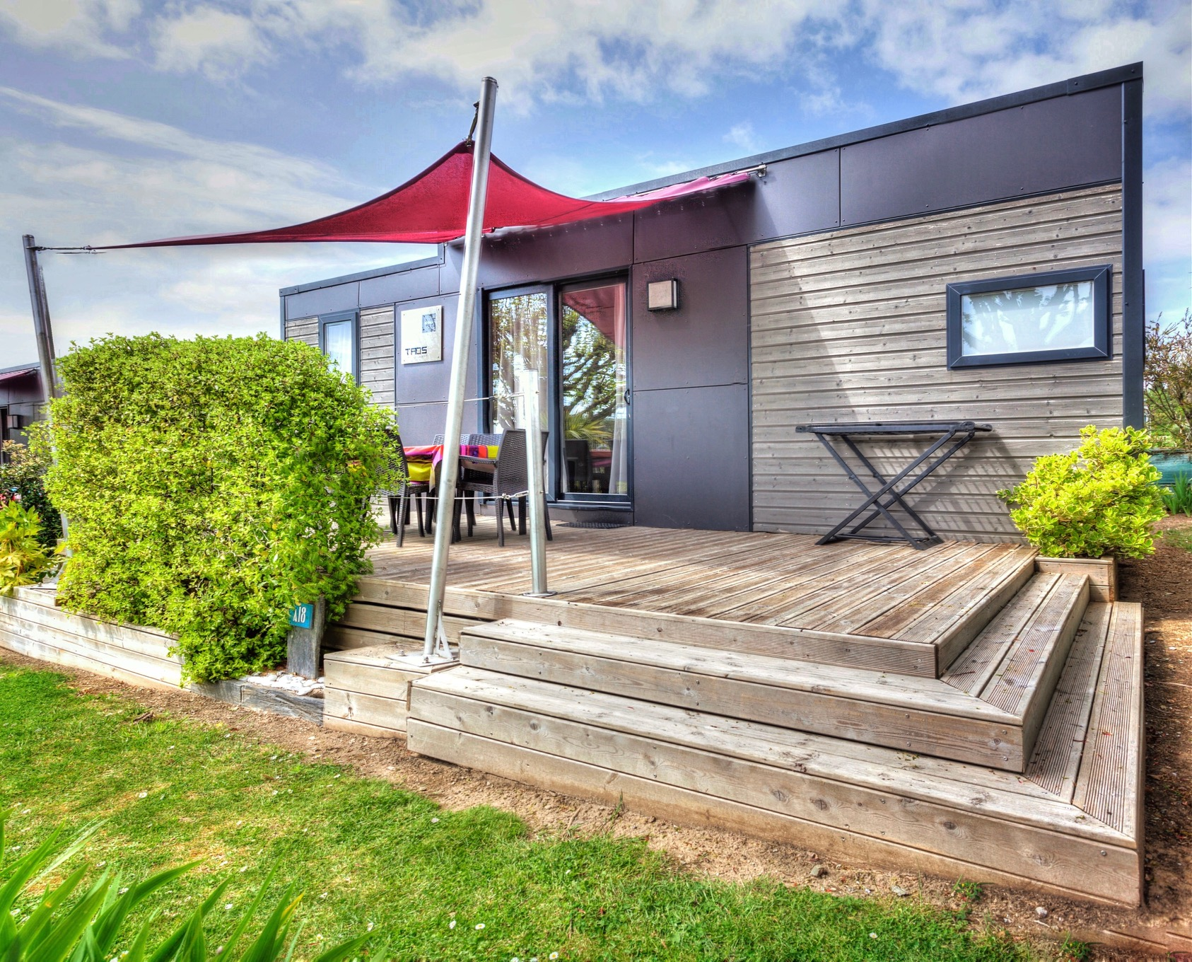 Location - D- Cottage Privilege Ty Taos 6 - Camping Les Embruns