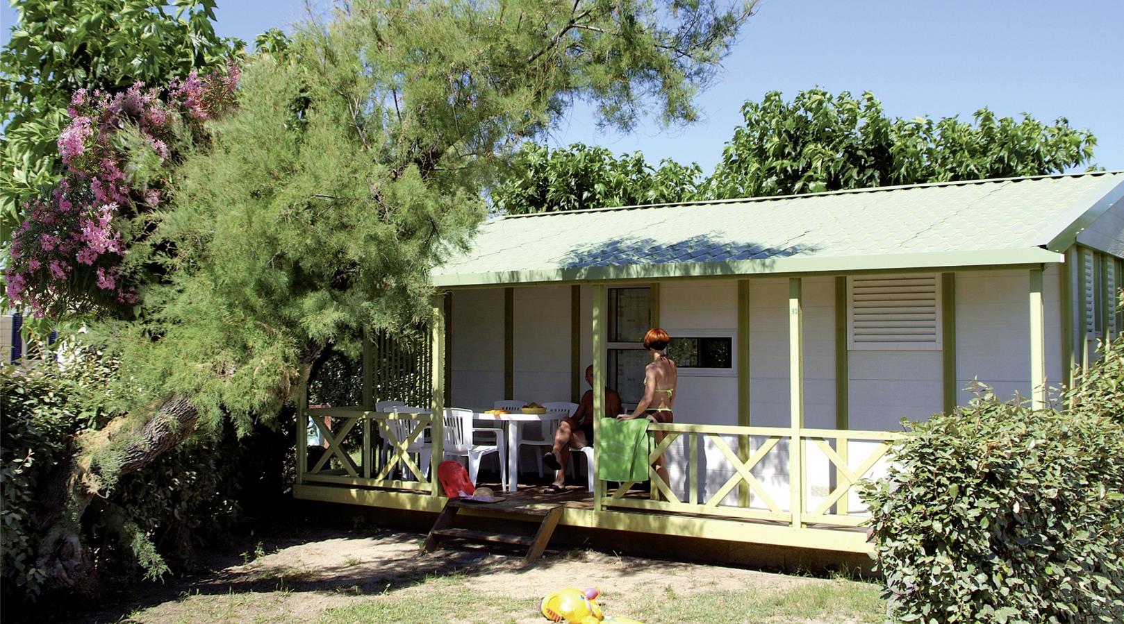 Location - Chalet 3 Chambres** - Camping Sandaya Les Tamaris