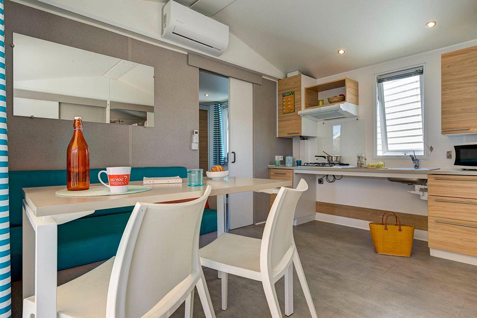 Location - Cottage 2 Chambres *** Adapté Aux Personnes À Mobilité Réduite - Camping Sandaya Les Tamaris