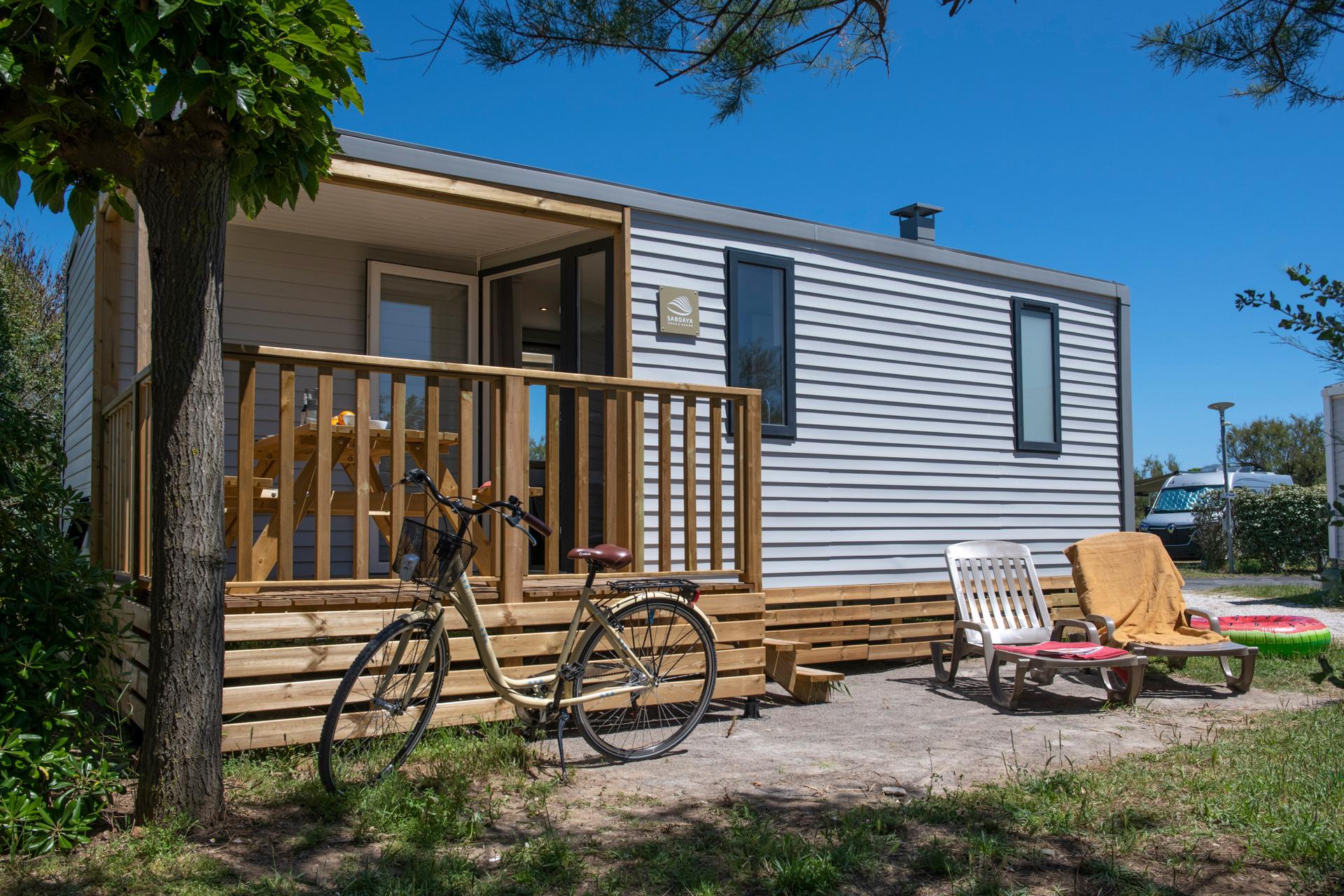 Location - Cottage New 2 Chambres *** - Camping Sandaya Les Tamaris