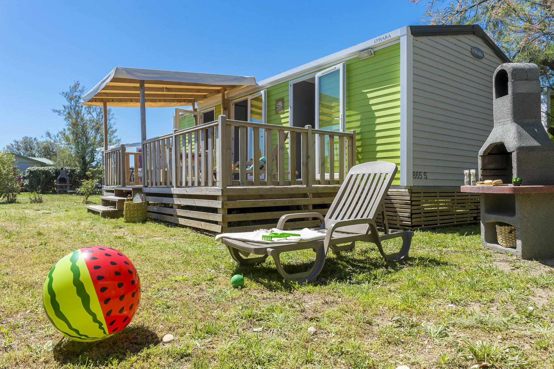Location - Cottage 2 Chambres- 2 Salles De Bain Climatisé**** - Camping Sandaya Les Tamaris