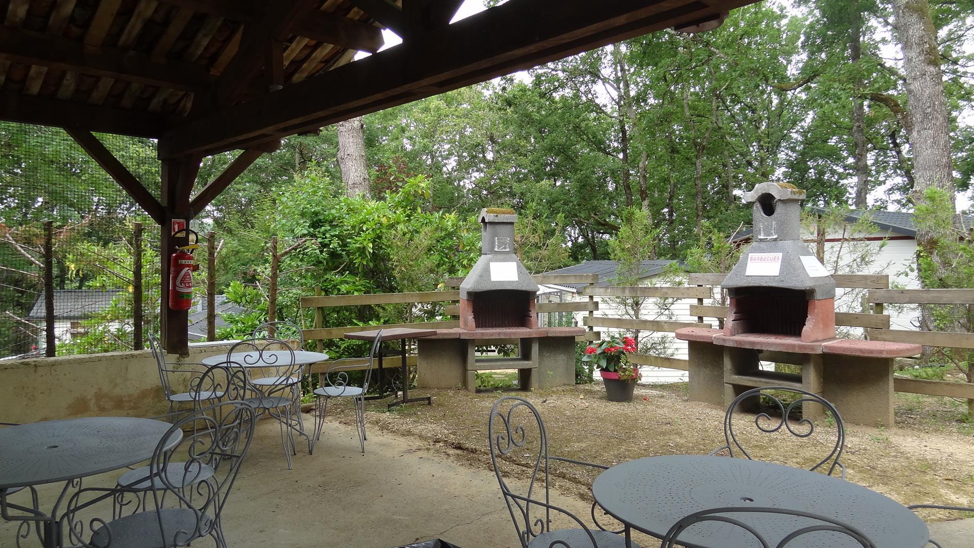 Camping la Colombiere, Beaumont, Dordogne