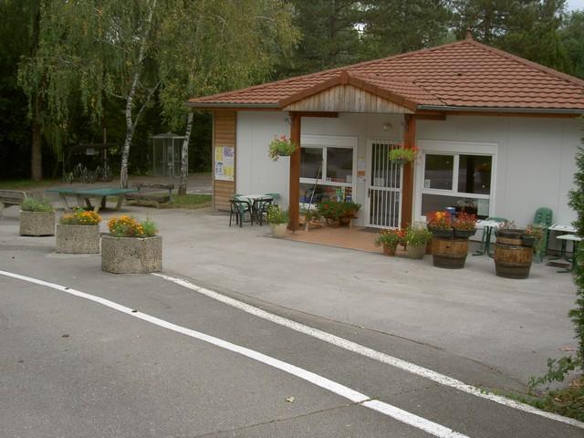Camping la Marjorie, Lonsle-Saunier, Jura