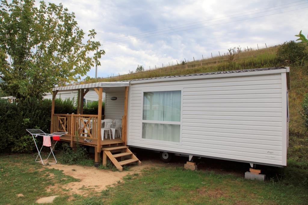 Accommodation - Loggia - 2 Bedrooms - 27M² - Camping Lac du Lit du Roi