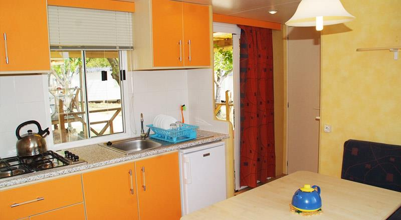 Accommodation - Residence - 2 Bedrooms - 26M² - Camping Lac du Lit du Roi