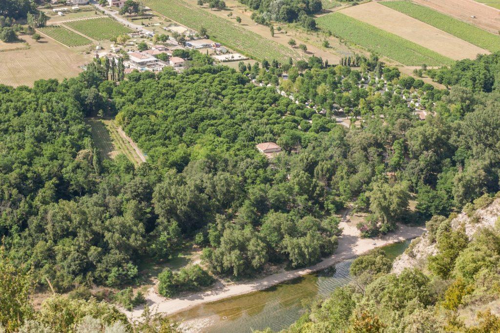 Camping la Plaine, Ruoms, Ardèche