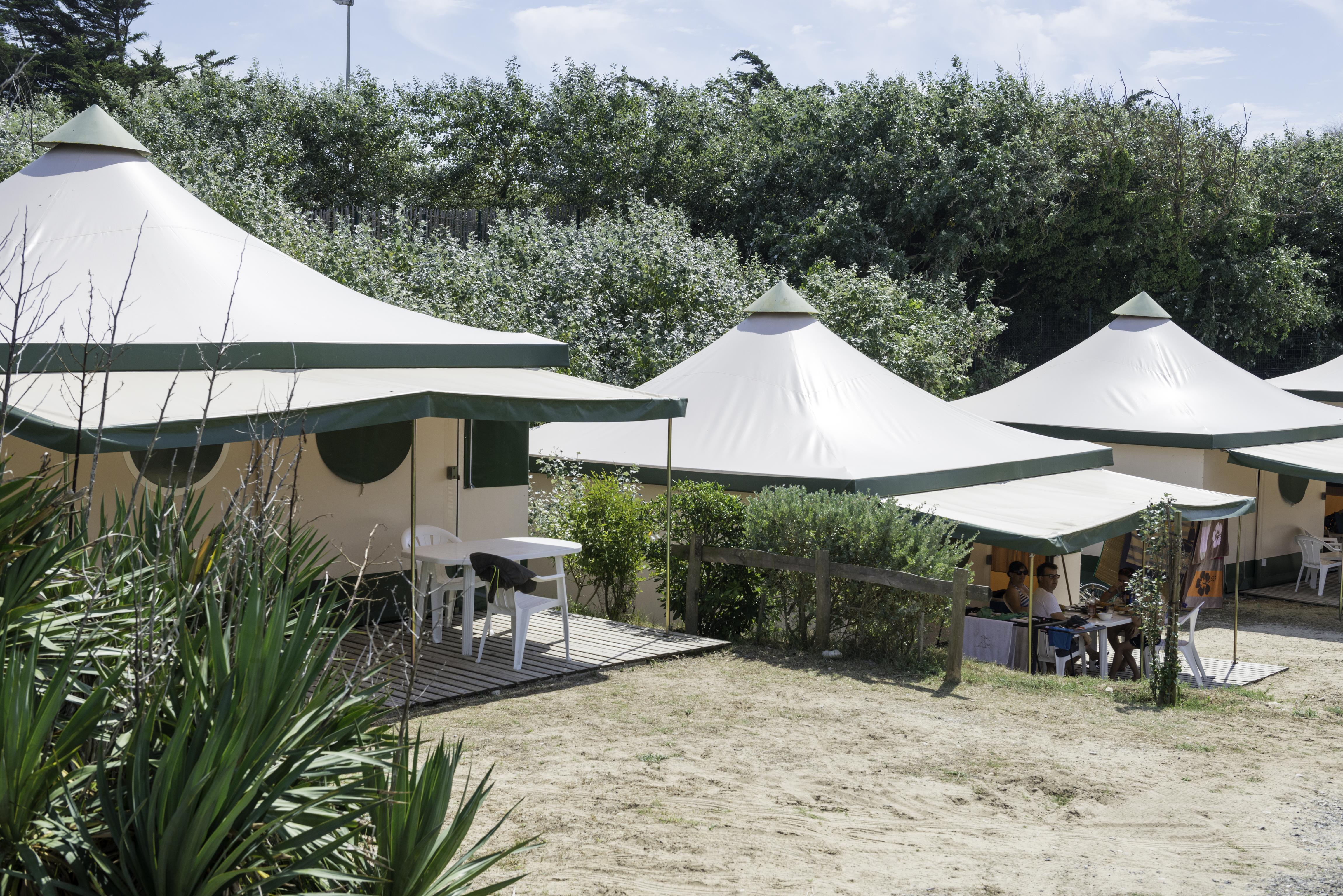 Location - Lodge 2 Chambres - Campéole Plage Sud