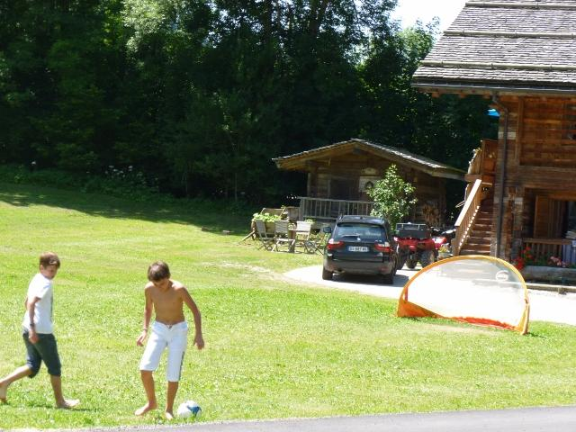 Camping l'Escale, Le Grand-Bornand, Haute-Savoie