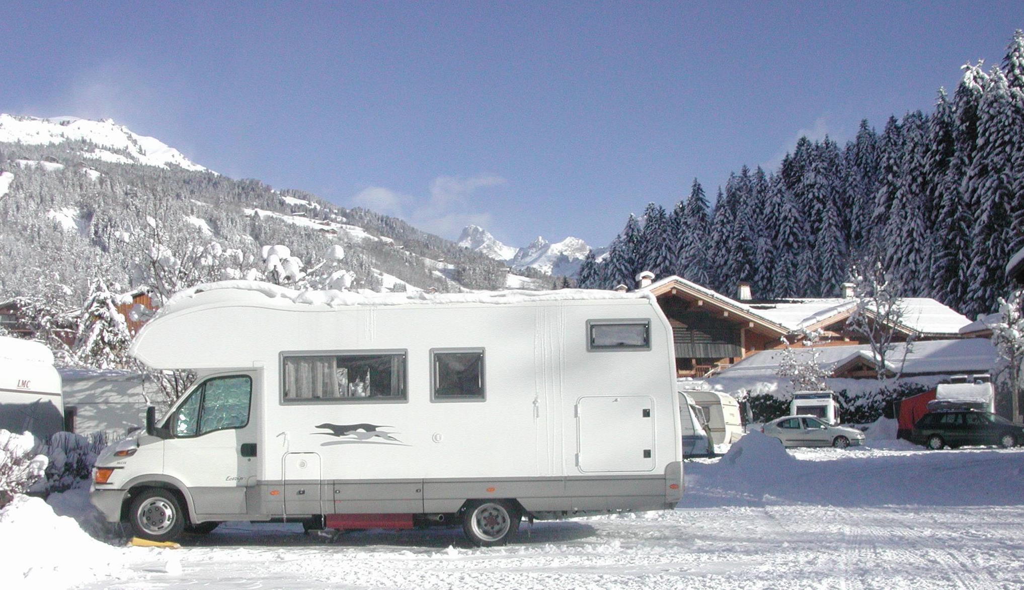 Wintercamping Pitch