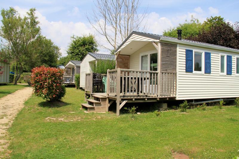 Location - Mobil-Home Louisiane Corsaire - 1 Chambre (Côté Nature) - Camping Les Saules