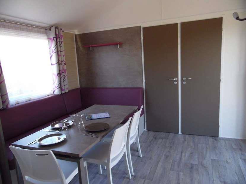 Location - Mobil-Home Rideau Nirvanna Quattro 4 Chambres (Côté Plage) - Camping Les Saules