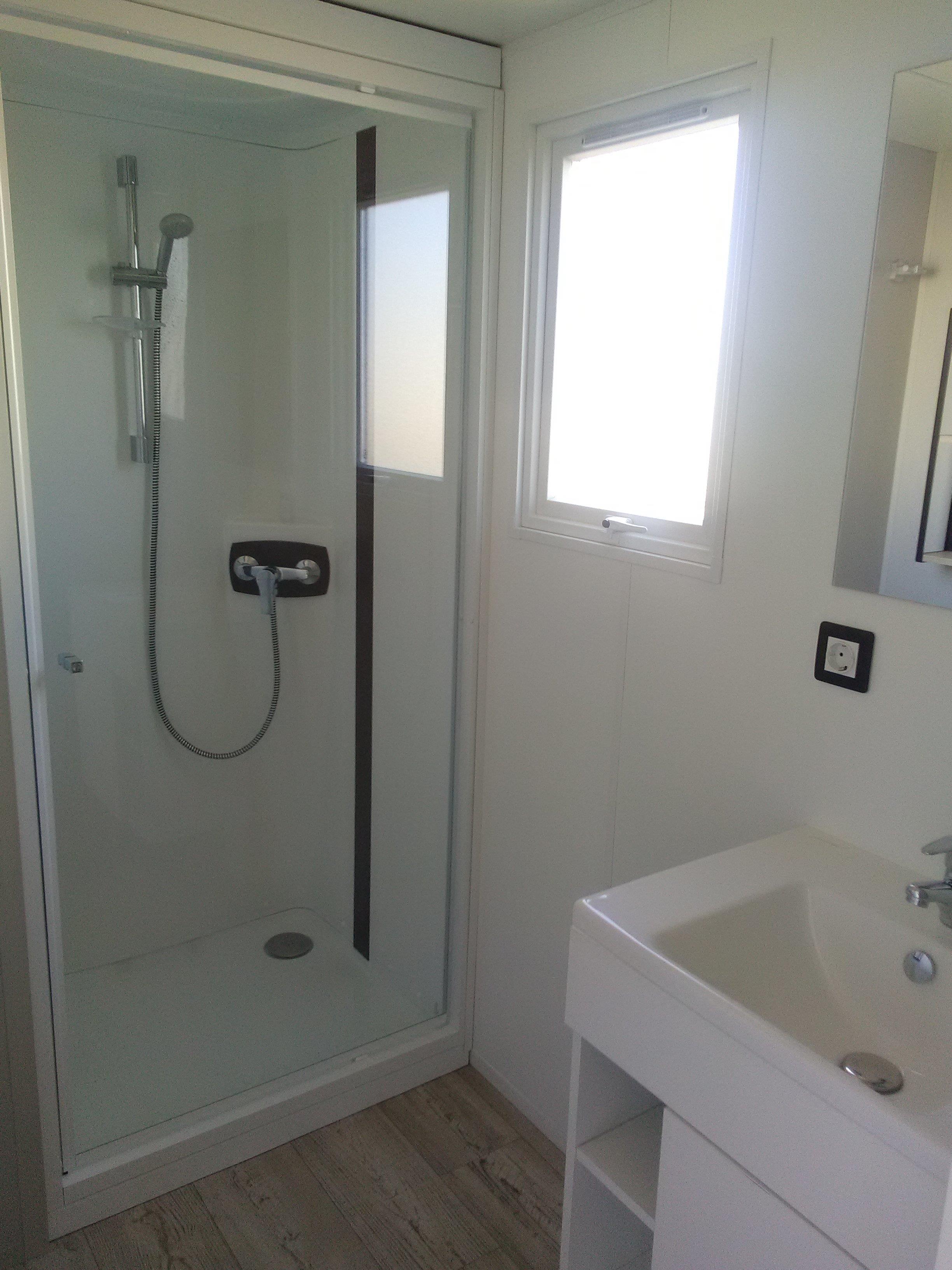 Location - Mobil-Home Louisiane Corail 3 Chambres 6Pers (Côté Plage) - Camping Les Saules