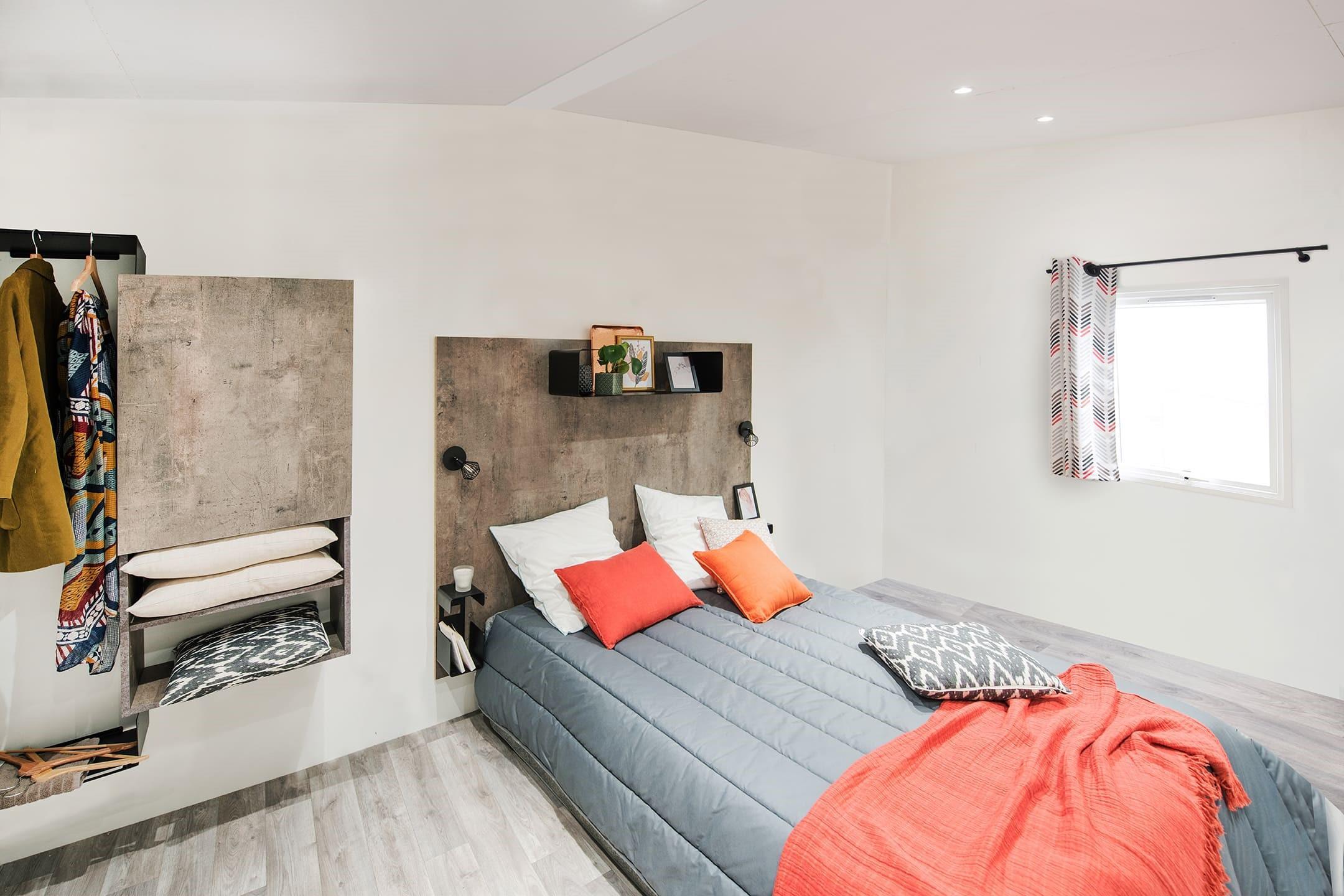 Location - Mobil-Home Adapté Aux Personnes À Mobilité Réduite Ibiza - 2 Chambres (Côté Plage) - Camping Les Saules