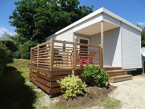 Location - Mobil Home Declik (Coté Plage) 2 Chambres - Camping Les Saules