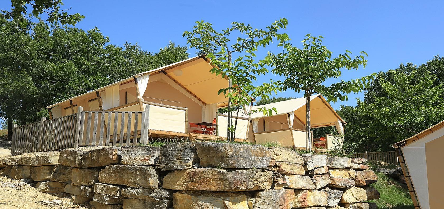 Camping Campeole les Reflets du Quercy, Crayssac, Lot