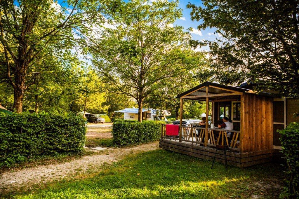 Location - Chalet Couples + 1 Jeune Enfant / Pmr - 1 Chambre - 2018 20 M² - Camping Lac de Carouge