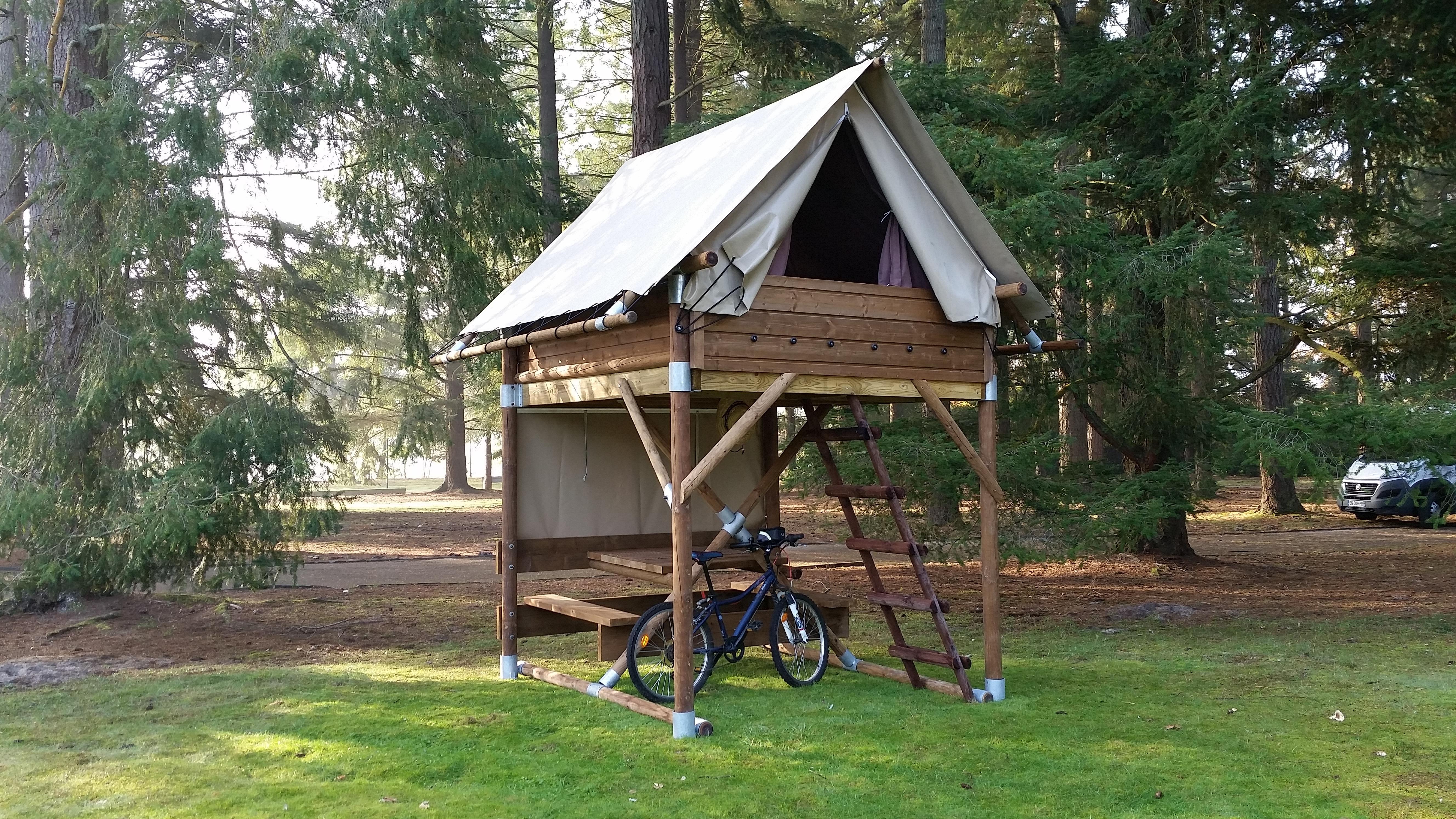 Location - Écolodge Bivouac - Camping Rondin des Bois