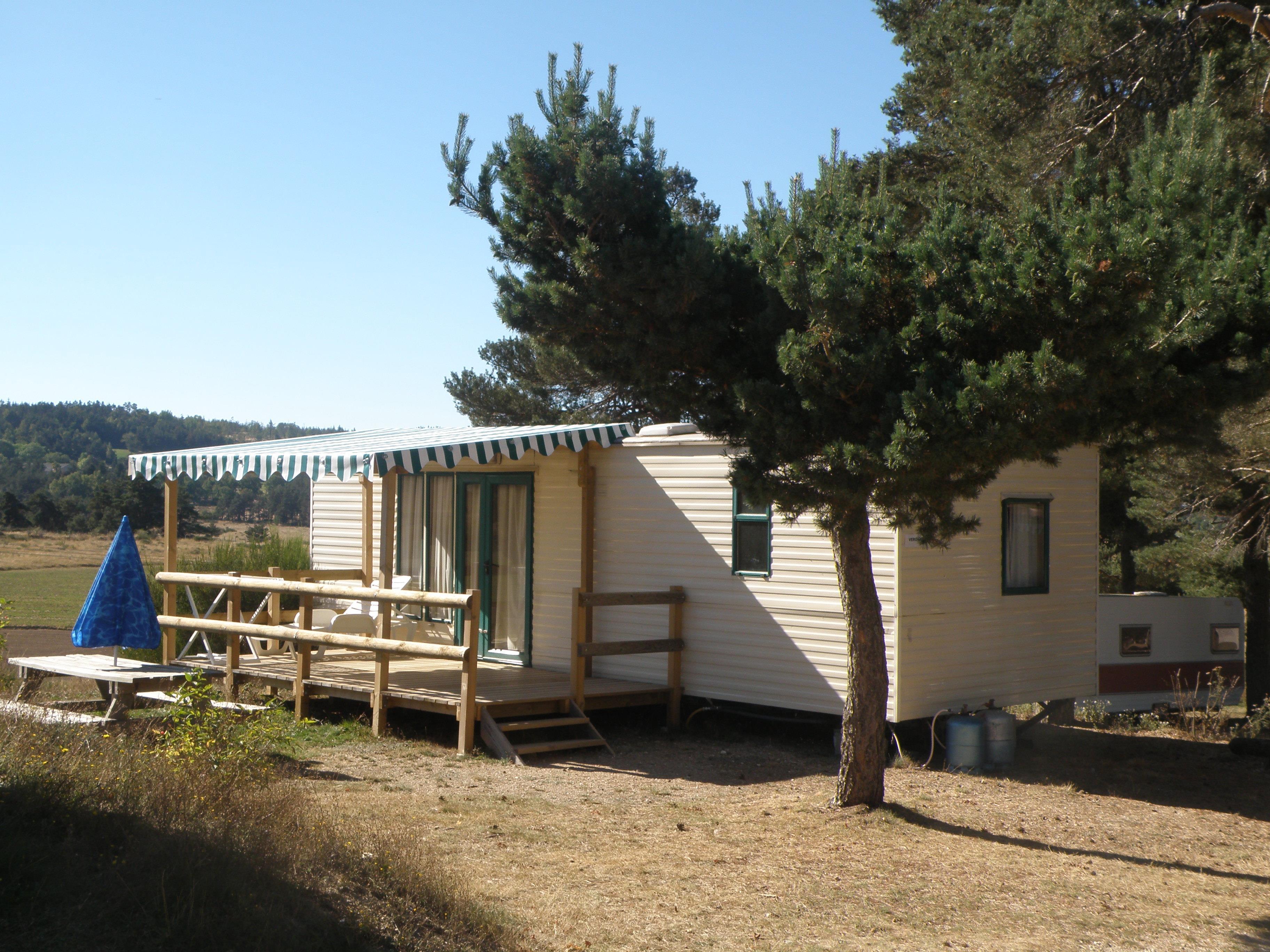 Location - Mobil-Home Vérona - Camping Les Sous Bois du Lac
