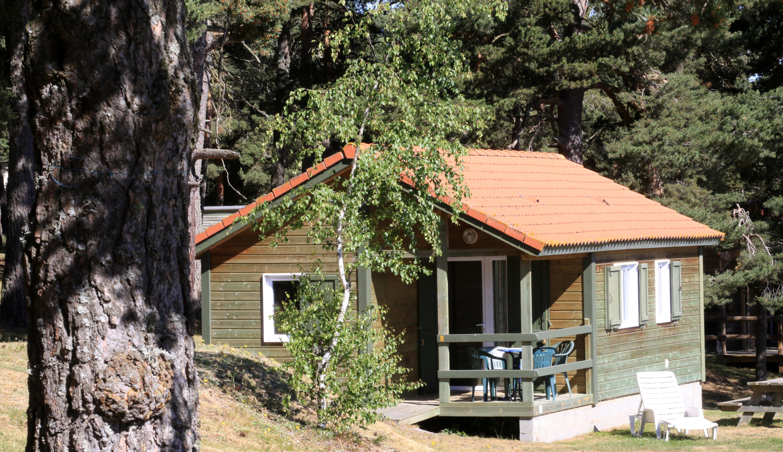 Location - Chalet Bois Edelweiss - Camping Les Sous Bois du Lac